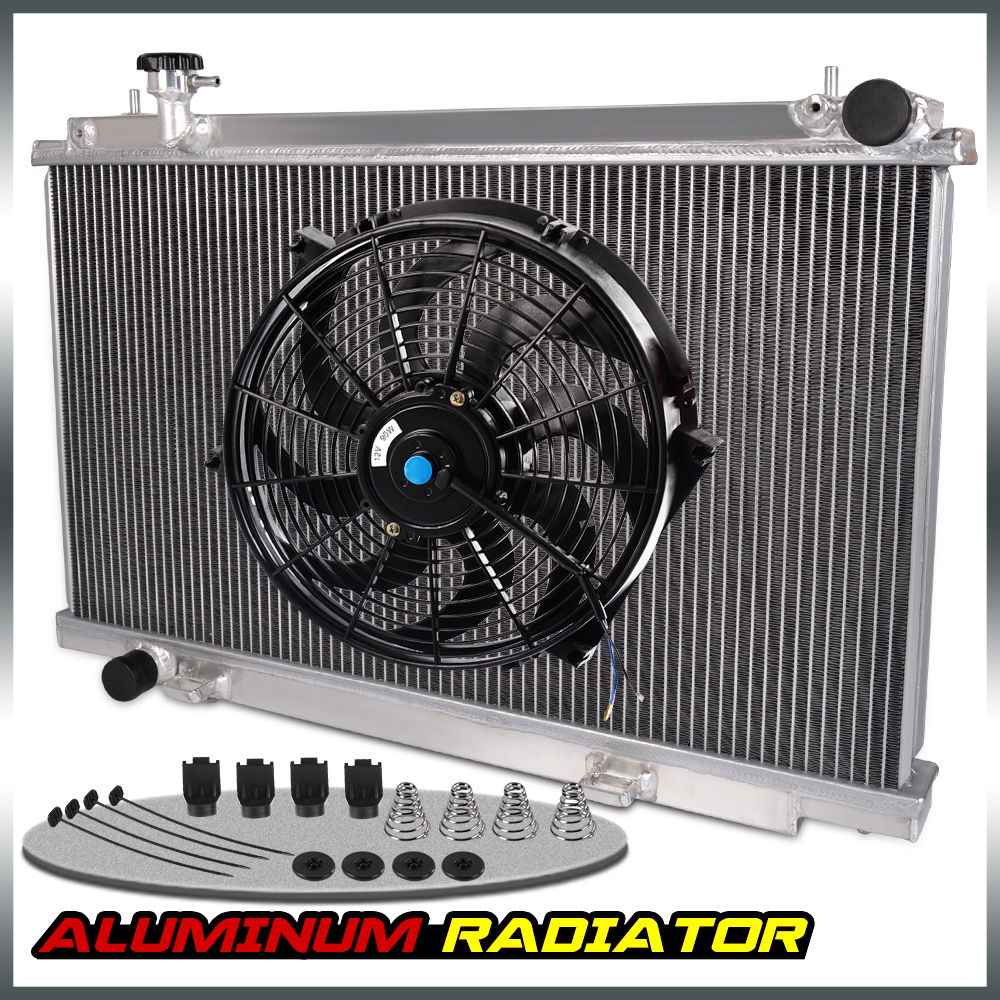 Aluminum radiator for 03-06 NISSAN 350Z ENTHUSIAST TOURING TRACK BASE 2003-2006