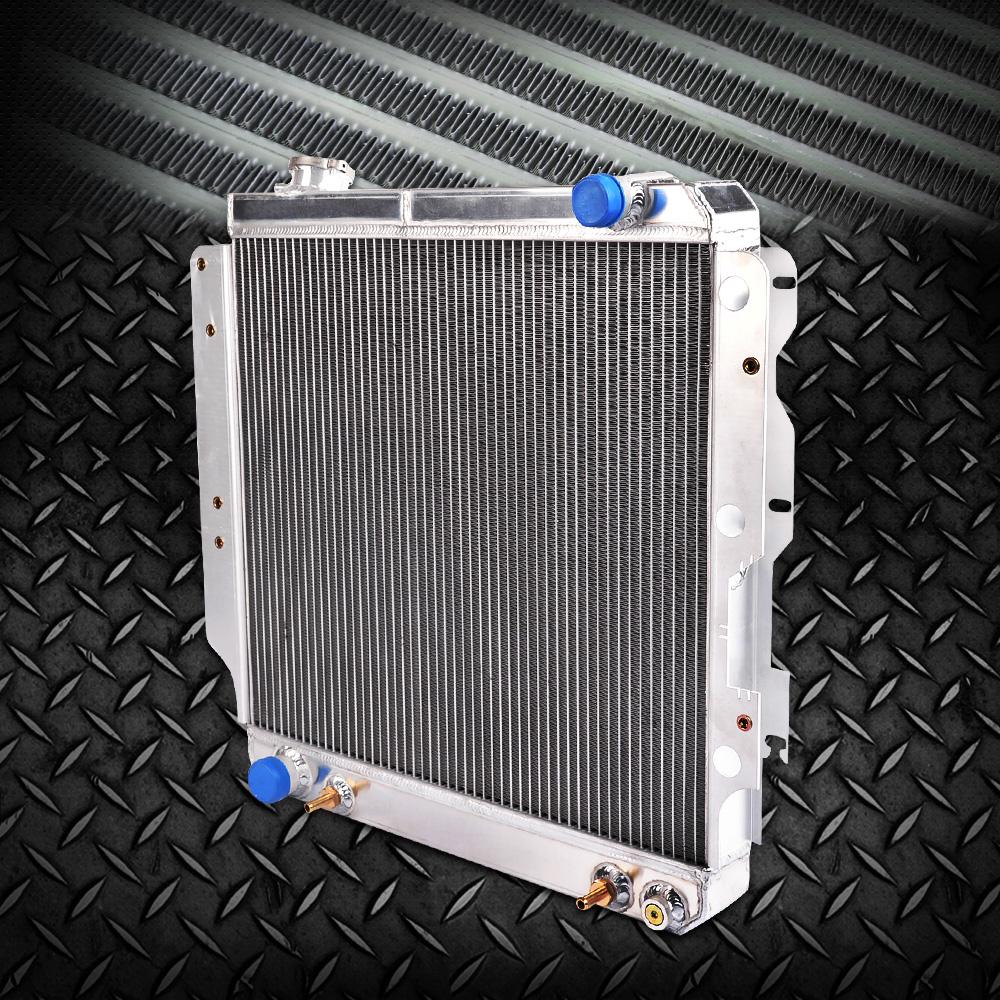 Aluminum Radiator Shroud /& Fan FOR 87-06 JEEP WRANGLER YJ//TJ 2.4L 2.5L 4.0L 4.2L