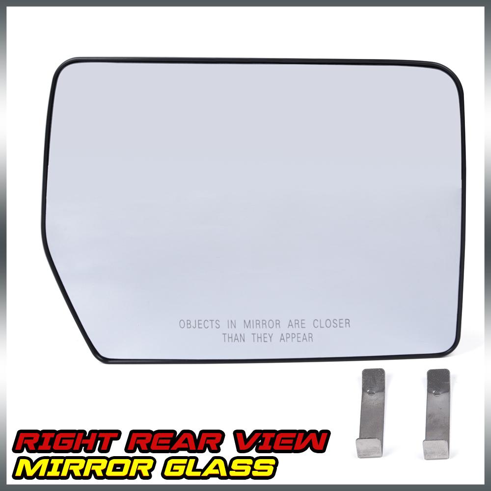 New For Ford F150 Mark Lt Pickup Truck Power Mirror Glass Passenge Side Rh